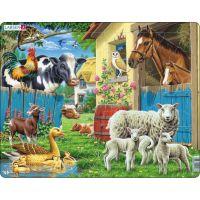 Larsen Puzzle Zvířata na farmě