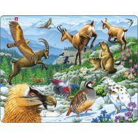 Larsen Puzzle Zvířata na horách