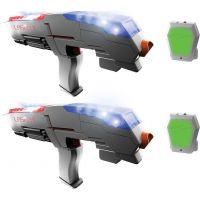 Laser-X pistole na infračervené paprsky dvojitá sada