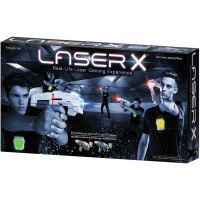 Laser-X pistole na infračervené paprsky dvojitá sada 6