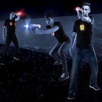 Laser-X pistole na infračervené paprsky dvojitá sada 2