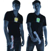 Laser-X pistole na infračervené paprsky dvojitá sada 4
