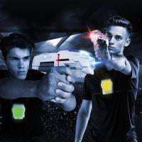 Laser-X pistole na infračervené paprsky dvojitá sada 5
