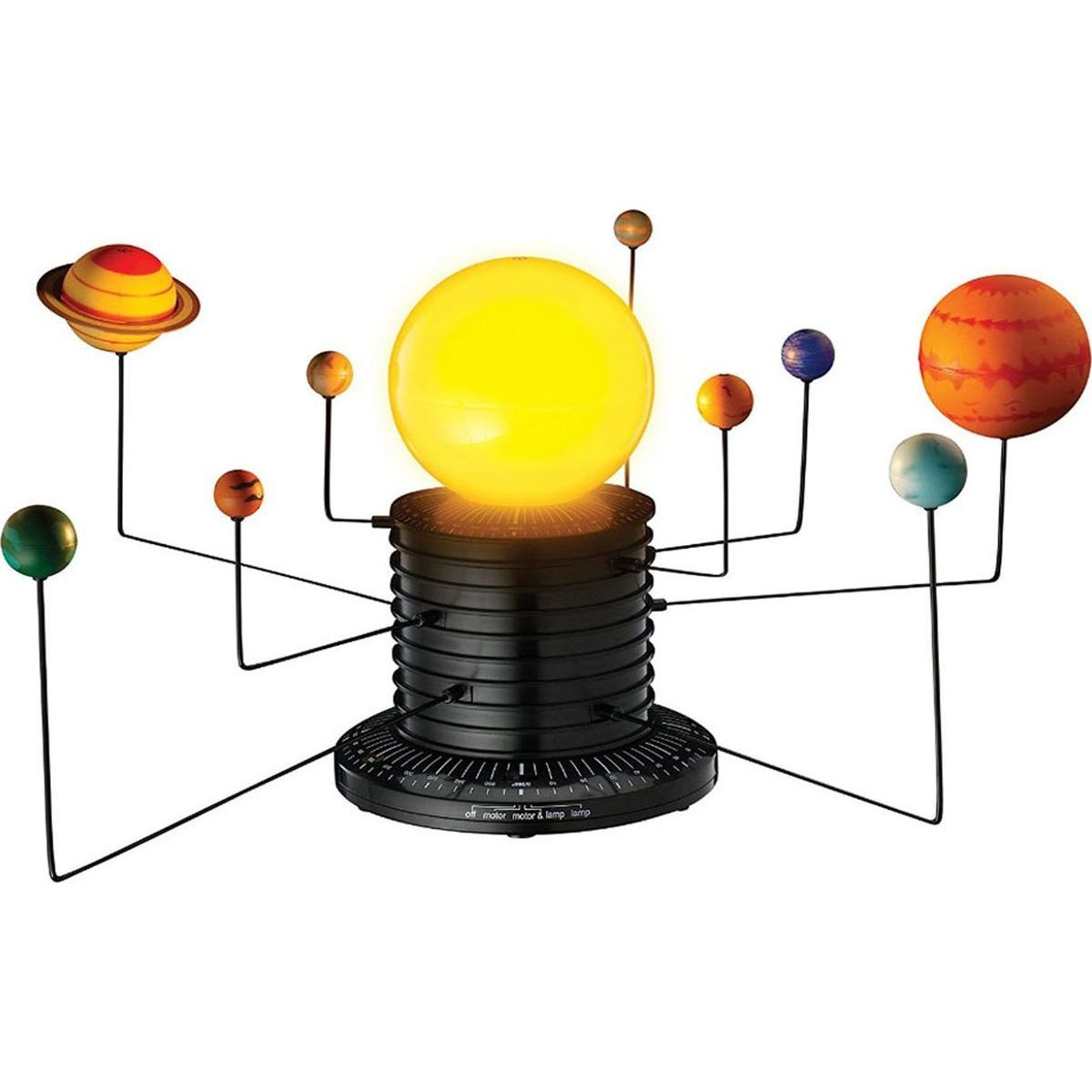 Learning resources Pohyblivá sluneční soustava