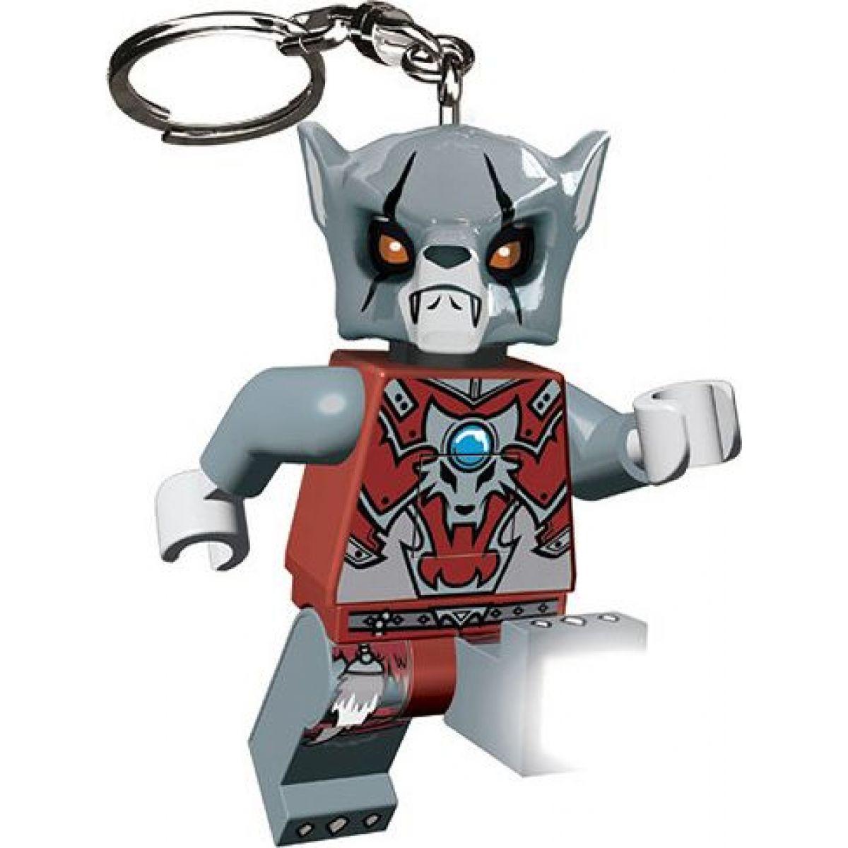 LEDLite LEGO Chima Worriz Svítící klíčenka
