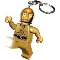 LEDLite LEGO Star Wars C3PO Svítící klíčenka