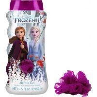 Ledové království 2 Koupelový a sprchový gel s houbičkou 450 ml 2