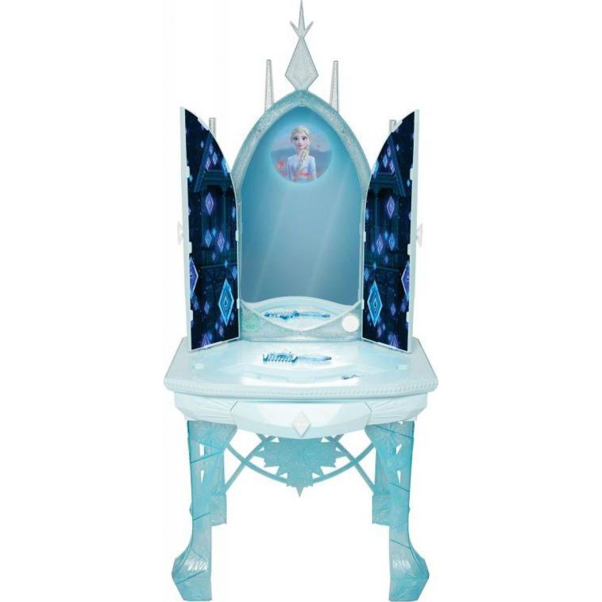 Black Fire Ledové království II Elsin ledový kosmetický stolek