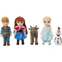 Black Fire Ledové království II Velký set s figurkami Anna, Elsa, Olaf, Kristof 15 cm