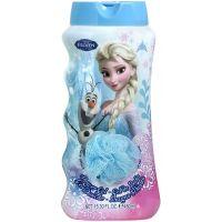 Ledové království Koupelový a sprchový gel s houbičkou 450 ml