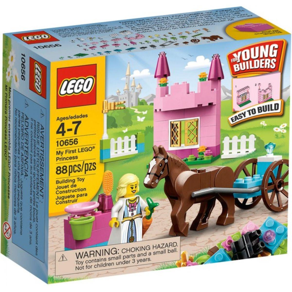 LEGO Kostičky 10656 Moje první LEGO® Princezna