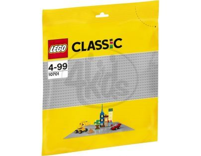 LEGO 10701 Šedá podložka na stavění