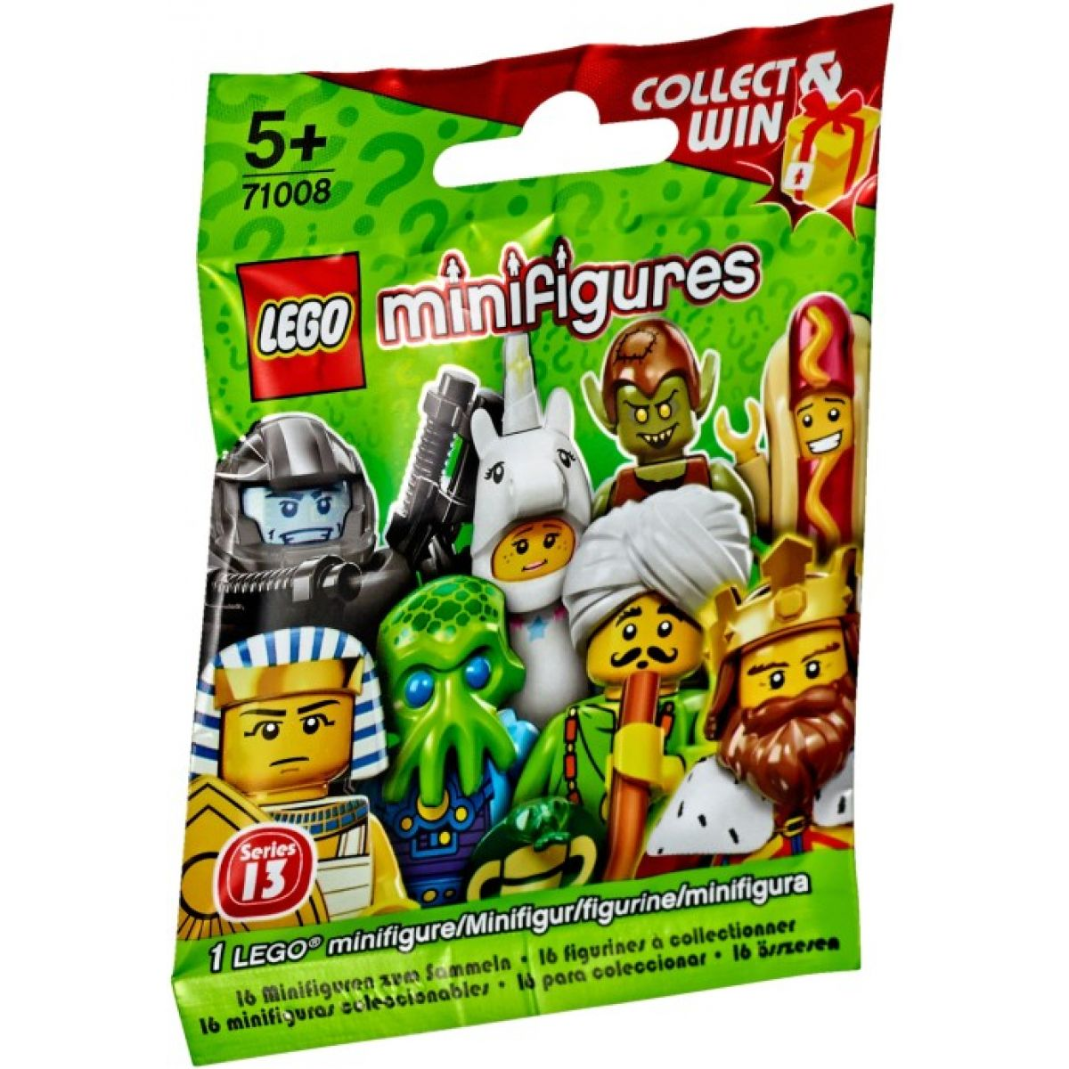 LEGO Minifigures 71008 - LEGO® Minifigurky – 13. série