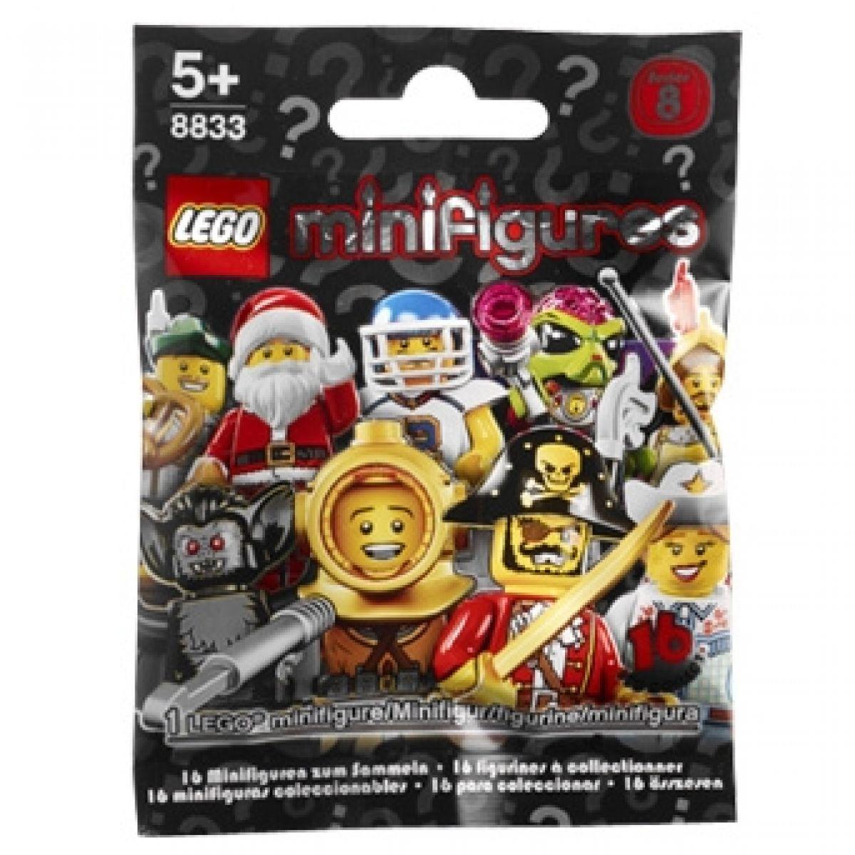 LEGO 8833 Sběratelské Minifigurky, 8. série