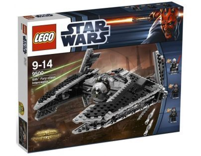LEGO STAR WARS 9500 Sith™ Fury-class Interceptor™ (Stíhací letoun Sithů)