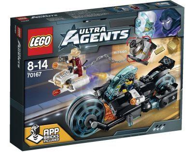 LEGO Agents 70167 - Invizable utíká se zlatem