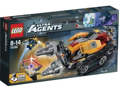 LEGO Agents 70168 - Drillex krade diamant