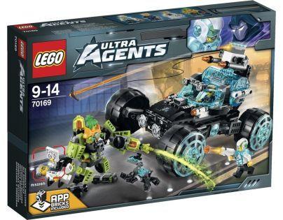 LEGO Agents 70169 - Hlídka tajných agentů