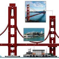 LEGO® Architecture 21043 San Francisco 3
