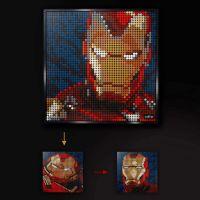 Lego Art Iron Man 6