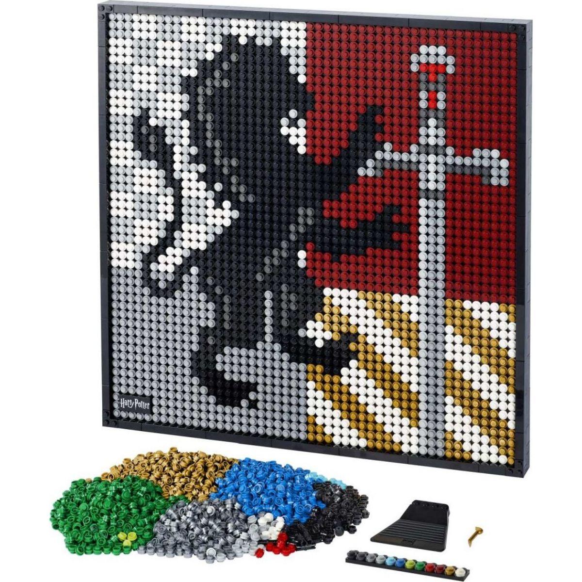 LEGO ART 31201 Harry Potter™ Erby bradavických kolejí