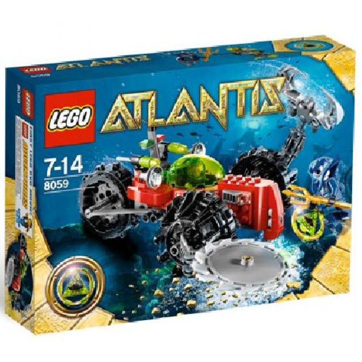 LEGO Atlantis 8059 Průzkumník mořského dna