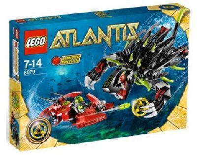 LEGO Atlantis 8079 Shadow Snapper