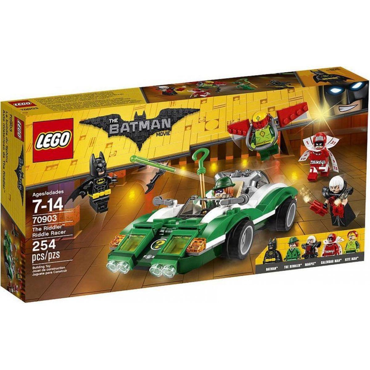 LEGO Batman Movie 70903 Hádankář a jeho Riddle Racer