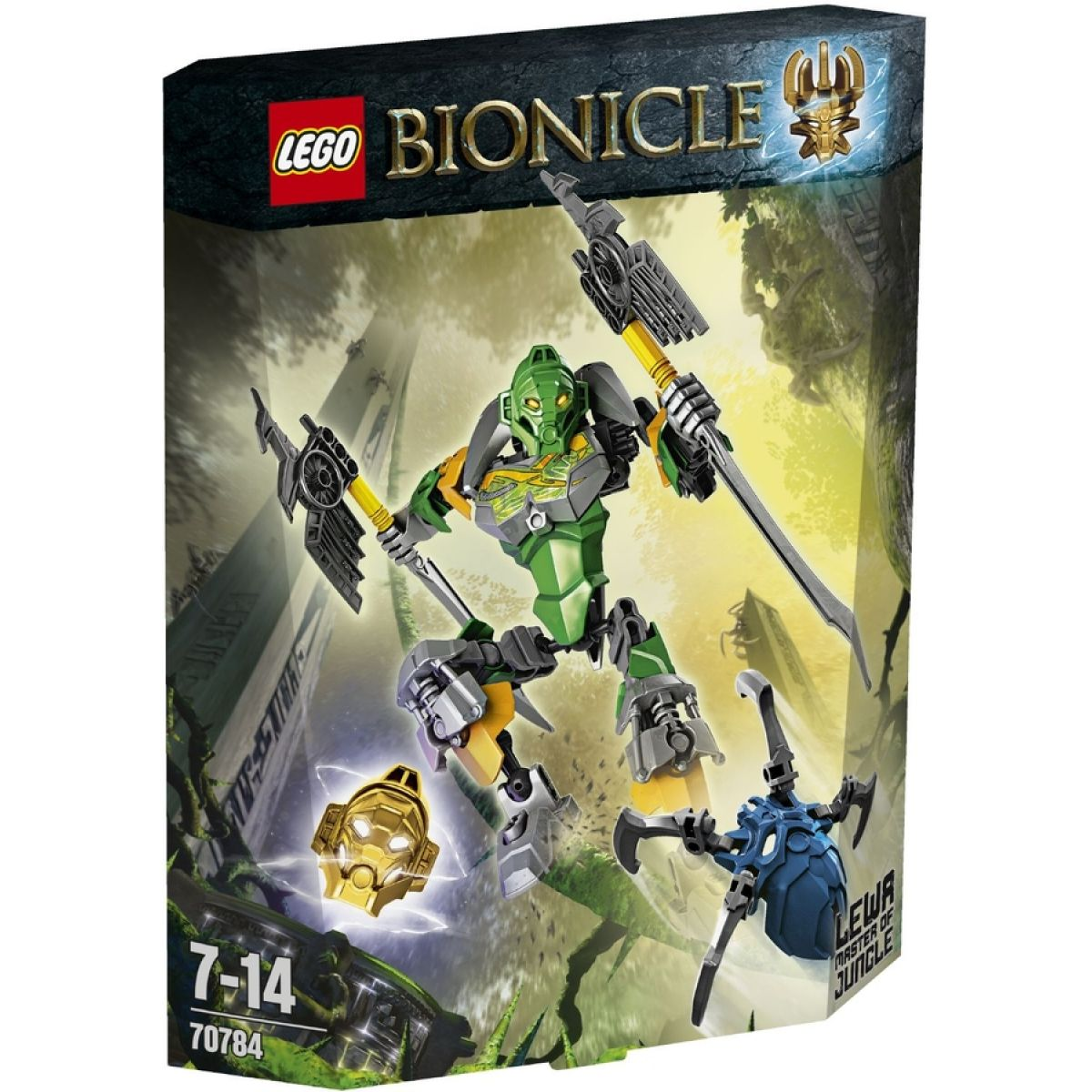 LEGO Bionicle 70784 - Lewa – Pán džungle