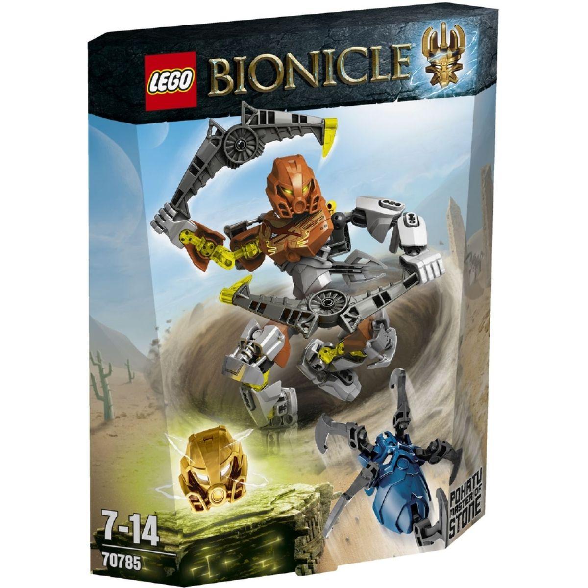 LEGO Bionicle 70785 - Pohatu – Pán kamene