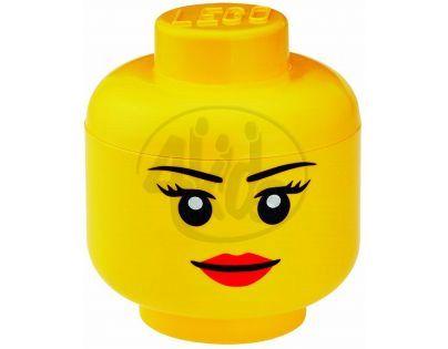 LEGO 4032 - LEGO box hlava dívky, velikost L