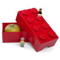 LEGO Box na svačinu 10 x 20 x 7,5 cm Červená 2