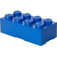 LEGO Box na svačinu 10 x 20 x 7,5 cm Modrá