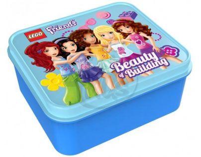 LEGO Box na svačinu - Friends modrý