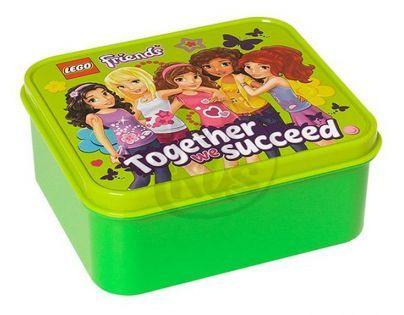 LEGO Box na svačinu - Friends zelený