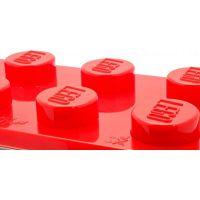 LEGO Brick Hodiny s budíkem Červená 3