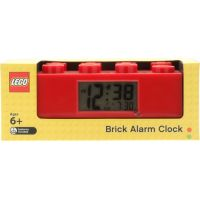 LEGO Brick Hodiny s budíkem Červená 5