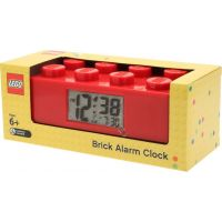 LEGO Brick Hodiny s budíkem Červená 6