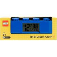 LEGO Brick Hodiny s budíkem modré 5
