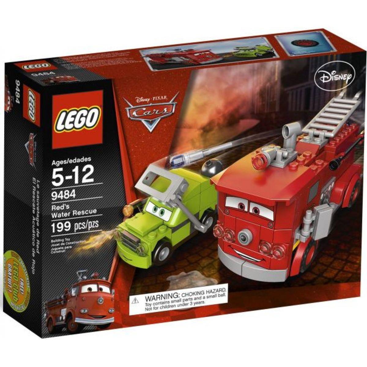 LEGO Cars 9484 Červená vodní spása