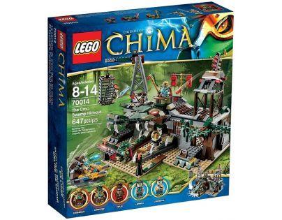 LEGO CHIMA 70014 Crocova skrýš v bažině