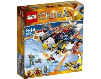 LEGO CHIMA - herní sady 70142 - Erisino ohnivé orlí letadlo