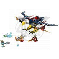 LEGO CHIMA - herní sady 70142 - Erisino ohnivé orlí letadlo 2