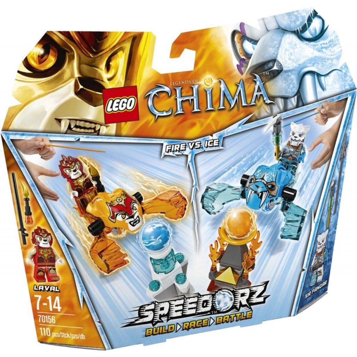 LEGO CHIMA - speedory 70156 - Oheň versus led