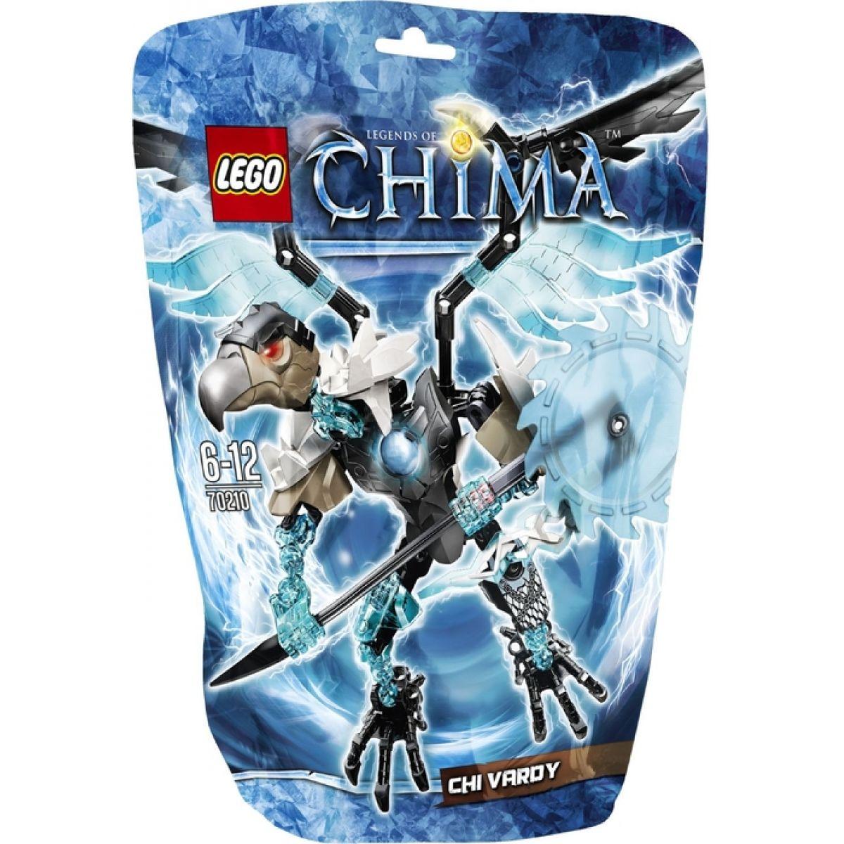 LEGO CHIMA - akční figurky 70210 - CHI Vardy