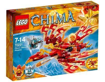 LEGO Chima 70221 - Flinxův úžasný Fénix