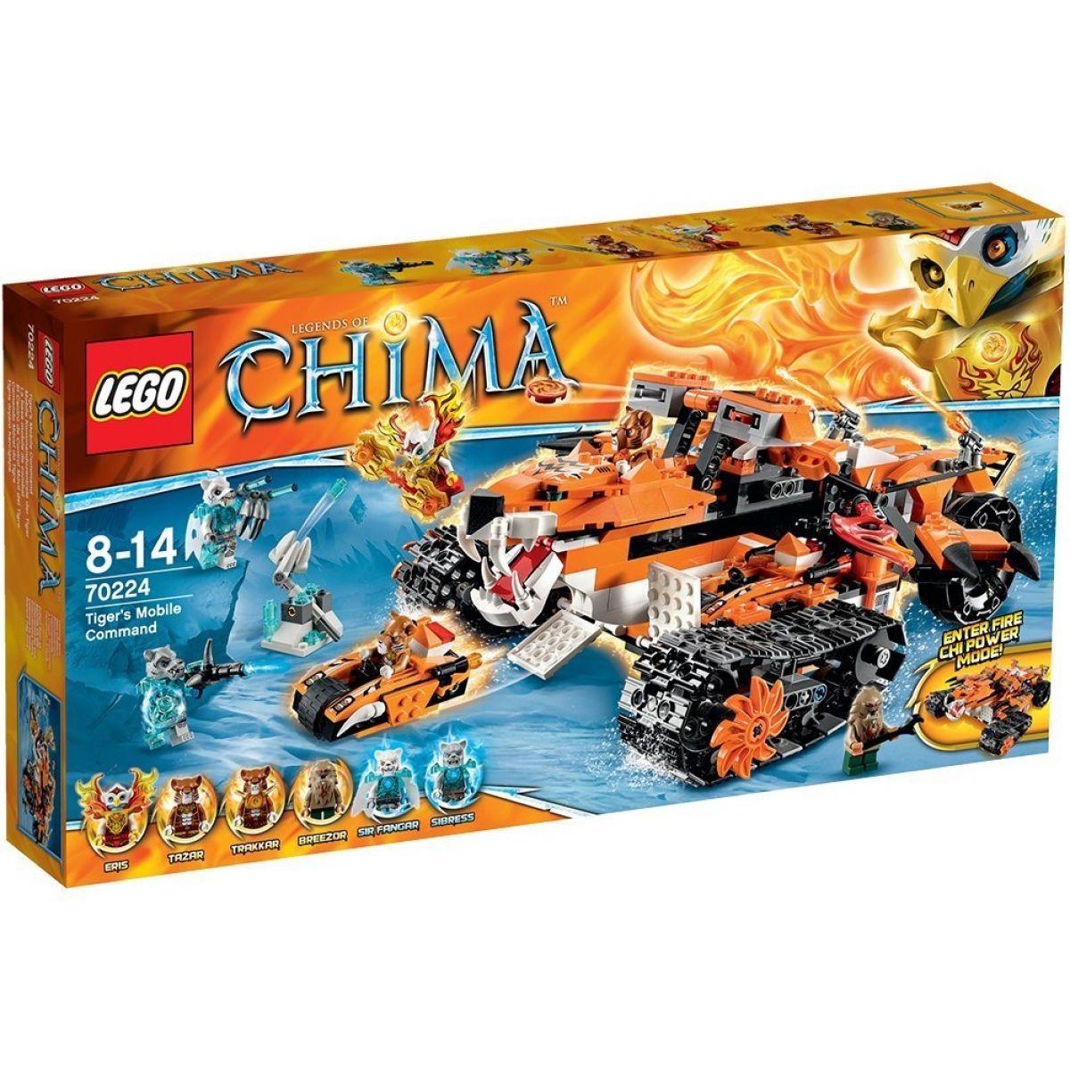 LEGO Chima 70224 - Mobilní velitelství tygrů