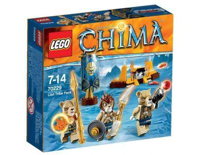 LEGO Chima 70229 - Smečka kmene Lvů