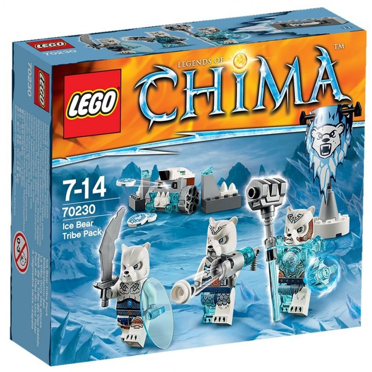 LEGO Chima 70230 - Smečka kmene Ledních medvědů