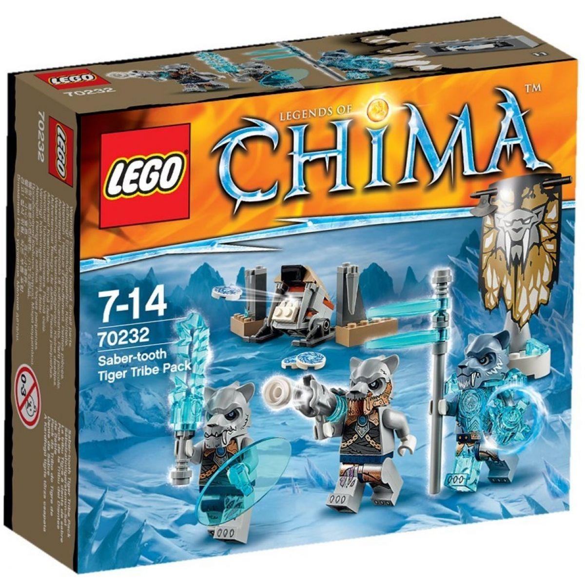 LEGO Chima 70232 - Smečka kmene Šavlozubých tygrů